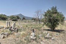 Magnesia on the Meander - Turkish graveyard