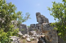 Fortification walls in Olba