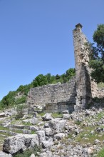 The nymphaeum in Olba