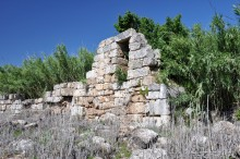 City walls of Perge