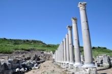 Colonnaded street in Perge