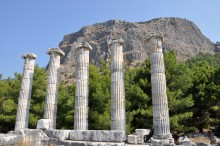 The Temple of Athena Polias in Priene