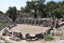 The theater of Priene