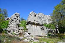Gymnasium and baths of Termessos
