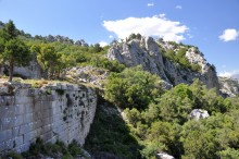 City walls of Termessos