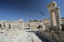 Tripolis, gate near the colonnaded street