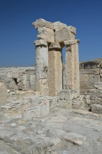 Orpheus fountain in Tripolis