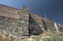 Van Fortress - reconstructed section of walls