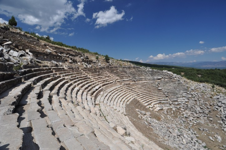Ancient city of Kibyra - the theatre