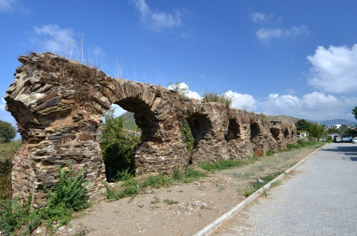 The aqueduct in Selinus