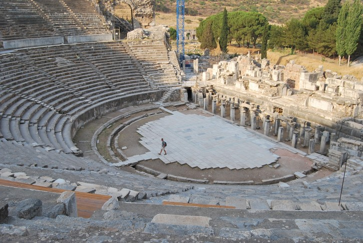 Ancient theatre in Ephesus