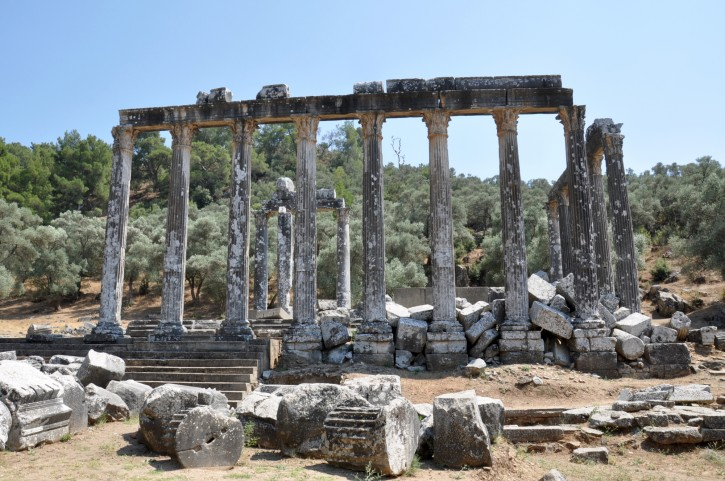 Temple of Zeus in Euromos