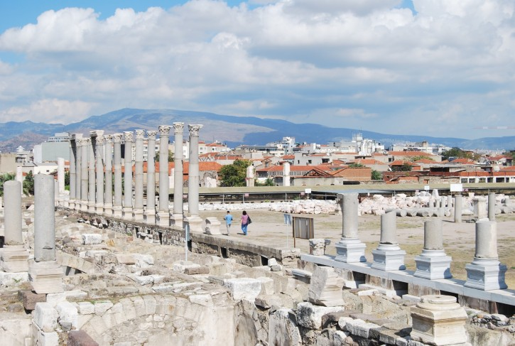 The Agora of Smyrna (Izmir)