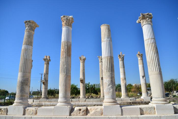 Ruins of Soli (Pompeiopolis) in Mersin