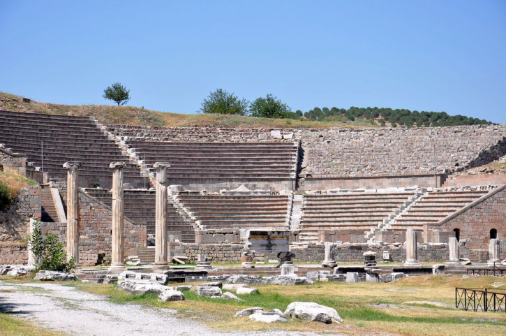 Theatre of the Asclepieion in Pergamon