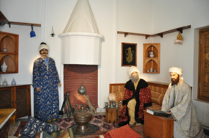 Health Museum in Edirne - Chief Doctor's room